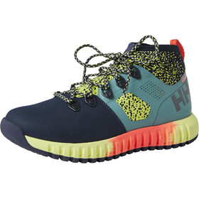 Helly Hansen Vanir Canter HT Shoes Damer, jade/graphite blue/sunny lime/neon coral